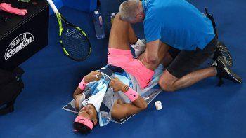 Nadal se retiró del Abierto de Australia