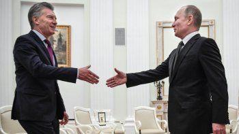 macri se reune con putin en rusia: tenemos mucho para crecer en el intercambio