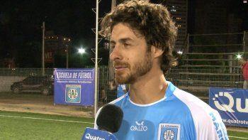 aimar se retira del futbol en la copa argentina