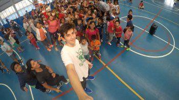 jugadores de gimnasia y esgrima participaron de las colonias municipales