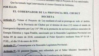 Diputados y concejales sorprendidos por el veto a la ley de emergencia  de los servicios públicos