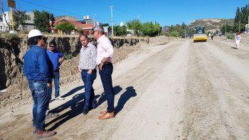 En marzo finalizarían las obras en la Fray Luis Beltrán: trabajamos en soledad