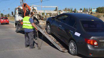 En Restinga Alí se controlaron 70 vehículos de los cuales seis vehículos fueron llevados al Corralón Municipal por falta de documentación.