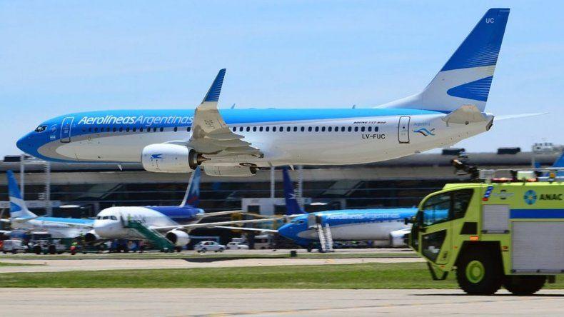 Una asamblea generó demoras en vuelos de Aerolíneas