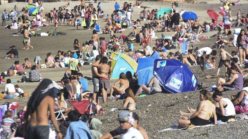 Comodoro fue ayer la sexta ciudad más calurosa de la Argentina con 35,6 grados