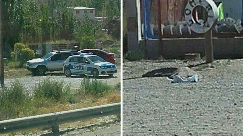 La policía investiga la muerte de un hombre en km 14