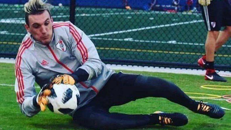 El santafesino Franco Armani debutará esta noche en el arco de River Plate.