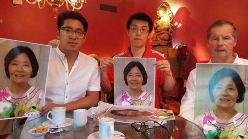Las últimas imágenes de la ciudadana china desaparecida en Ezeiza