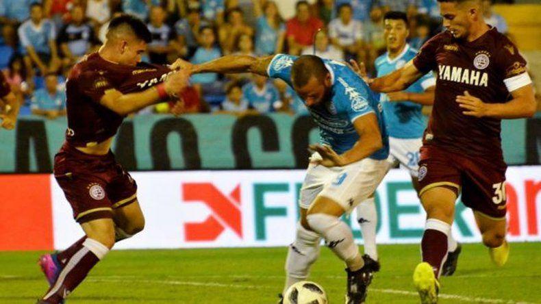 Belgrano y Lanús, sin ventajas en Córdoba