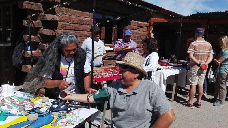 En la estación Nahuelpan el equipo del Centro de Atención Primaria de la Salud del barrio Ceferino de Esquel