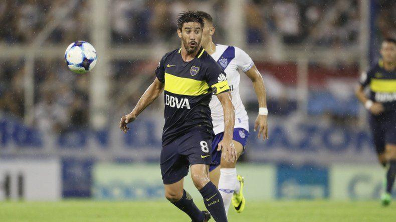 Pablo Pérez regresará esta tarde a la formación titular de Boca.