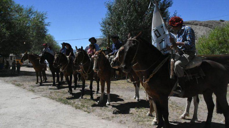 Quedó inaugurada en Cerro Cóndor la Fiesta Regional del Fósil