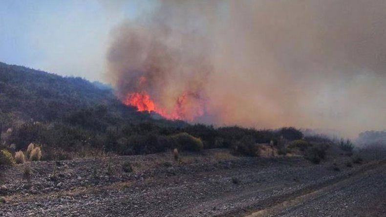 Controlaron un incendio desatado en la zona de El Maitén