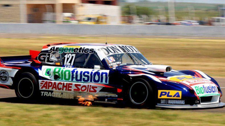 El Ford Falcon de Marcelo Agrelo que cerró un muy buen fin de semana en Concepción del Uruguay.