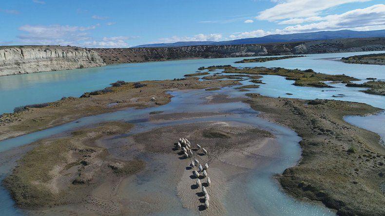 El Gobierno nacional quiere acelerar la construcción de  las represas del río Santa Cruz