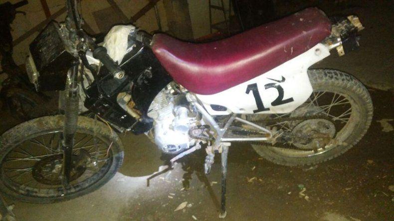 Secuestraron una moto que tenía pedido de captura