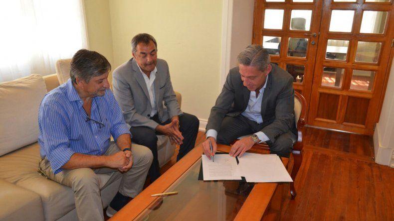 Uno de los acuerdos de Arcioni fue con la Federación de Cooperativas