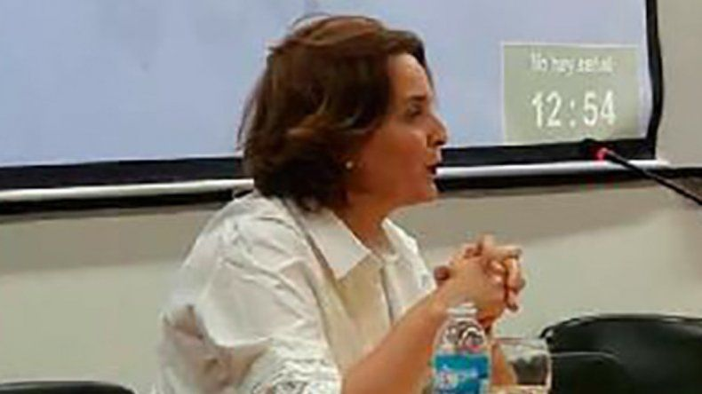Patricia Fernández de Andreani tendrá a su cargo la disertación de hoy.