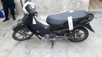 Recuperaron una moto que habían robado en enero