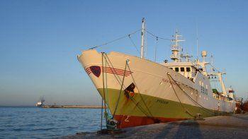La licencia de pesca que tiene el barco español es para Islas Malvinas