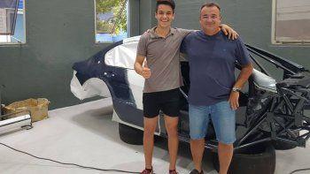 Estoy muy contento por haberme incorporado al DTA Racing, aseguró el piloto Rudi Bundziak.