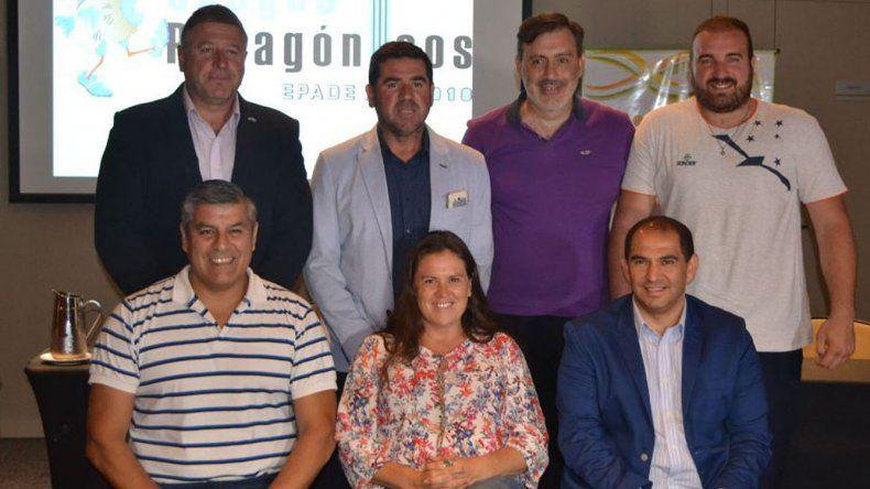 Autoridades del deporte provincial se reunieron en La Pampa.