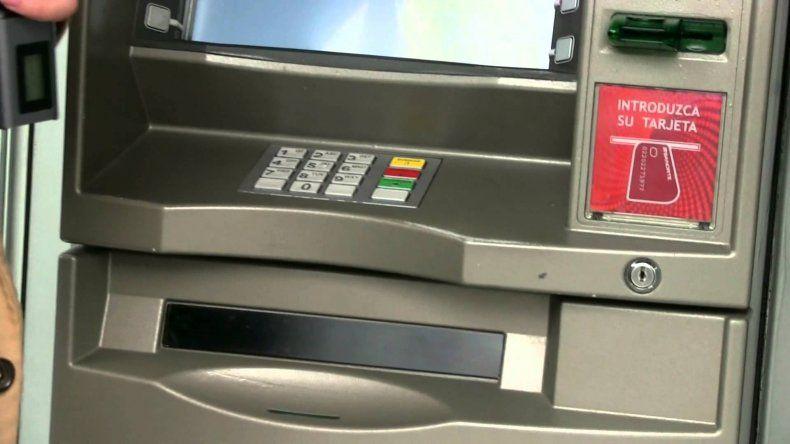 El paro bancario incluye la no carga de los cajeros automáticos