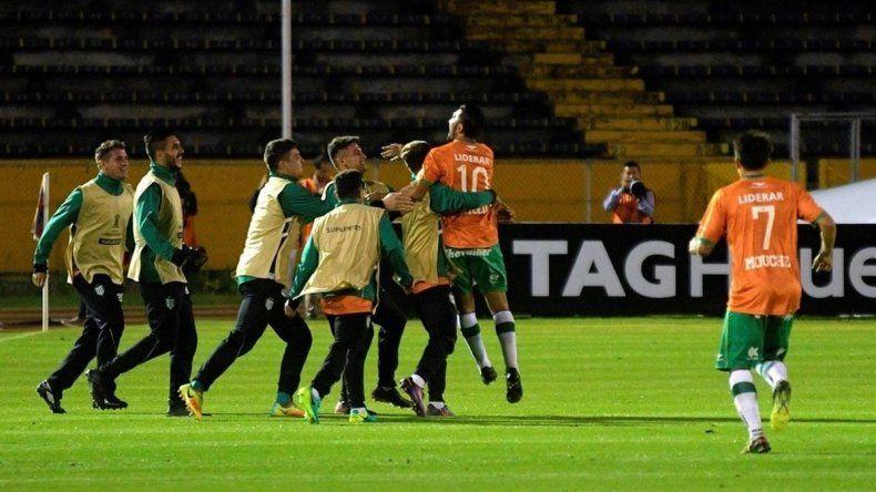 Banfield logró la clasificación a la tercera fase de la Libertadores