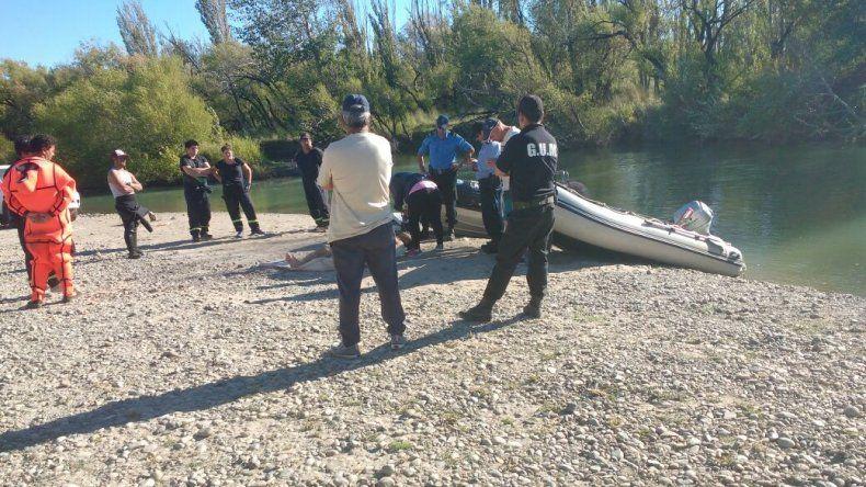 Encontraron el cuerpo del hombre que se ahogó en Sarmiento
