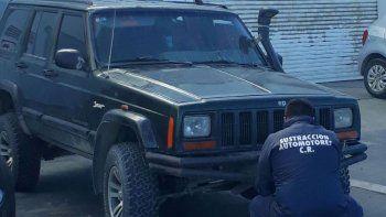 Secuestraron en el centro un Jeep por una causa de estafa