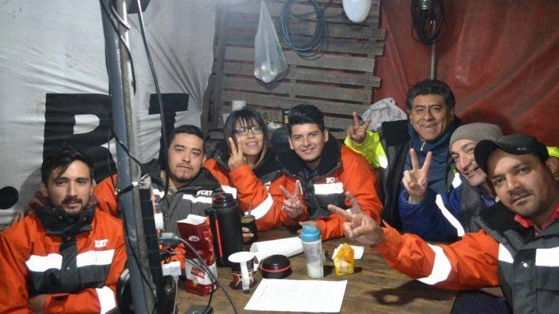 Los trabajadores de YCRT