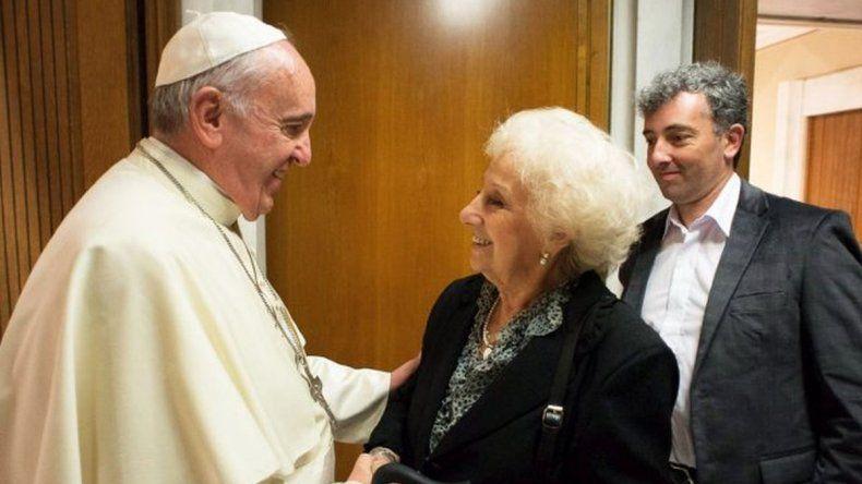 Estela de Carlotto: el Papa está preocupado por Argentina