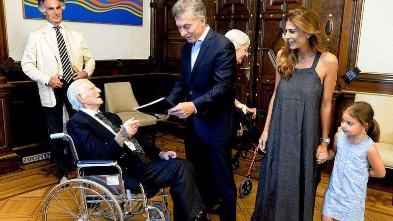 Macri celebró su cumpleaños con un almuerzo familiar en Casa Rosada