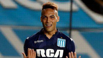 Lautaro Martínez se iría de Racing por casi 500 millones de pesos