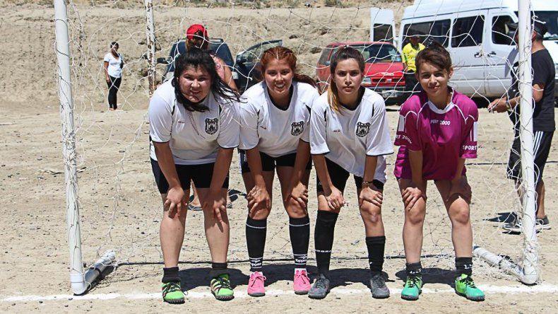 El equipo femenino de fútbol de Nueva Generación.