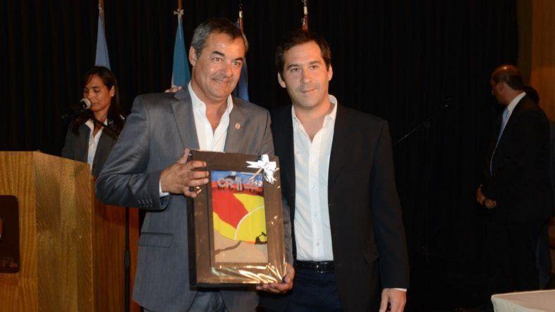 Juan Pablo Luque representó al municipio en el acto de la SCPL.
