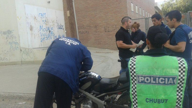 Secuestraron una moto que era buscada por hurto