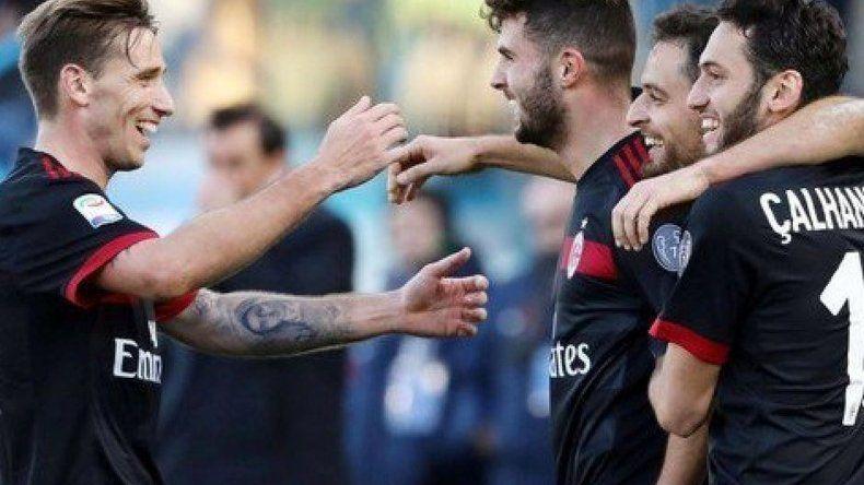 Debut y gol para Biglia en Milan