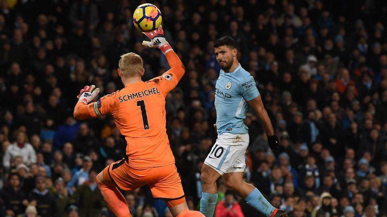 Sergio Agüero es el goleador histórico de Manchester City y con estos cuatro goles acrecentó su marca a 197.