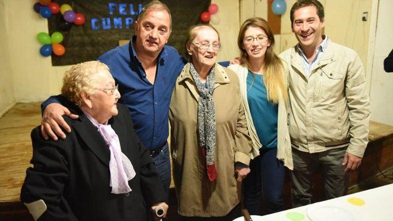 Castelli celebró su 74 aniversario