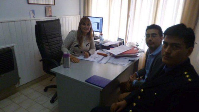 Los jefes de la Policía Científica se reunieron con la Fiscalía de Sarmiento