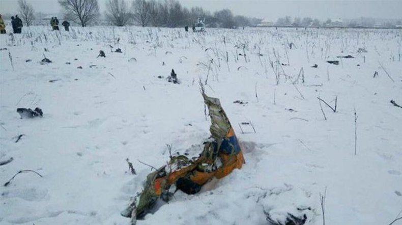 Se estrelló un avión en Rusia: murieron las 71 personas a bordo