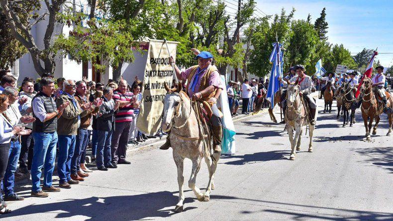Sarmiento vivió una nueva edición de su festival de Doma y Folklore.
