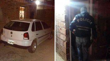 allanamiento en barrio pueyrredon por seguidilla de robos