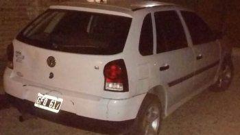 El vehículo fue secuestrado en el barrio Pueyrredón. Habría sido utilizado en el robo del parripollo de hace cuatro días.