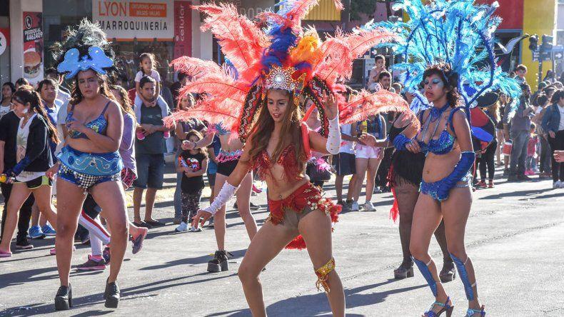 Talento y belleza en la calle San Martín.