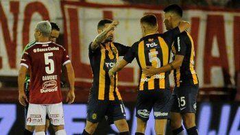 Rosario Central venció a Huracán por 3 a 2