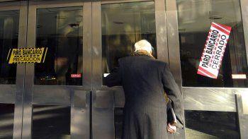 Bancarios ratificaron un nuevo paro para el 19 y 20 de febrero