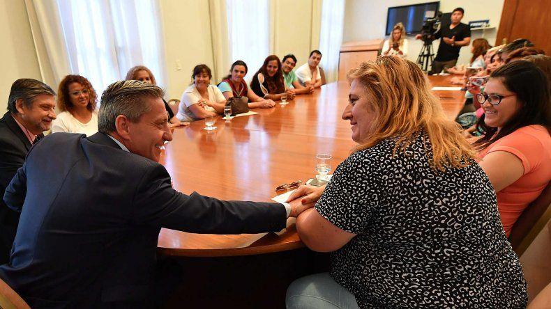 Arcioni recibió más adhesiones para que Legislatura apruebe el Pacto Fiscal