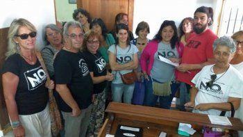 piden al concejo deliberante que ratifique el no a la mina